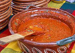 Roasted red pepper sauce in Buenos Aires