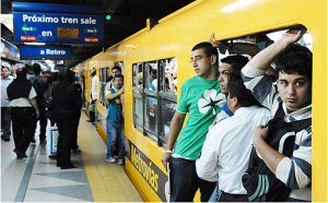 travel by subte of buenos aires