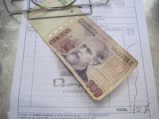 tipping in Argentina