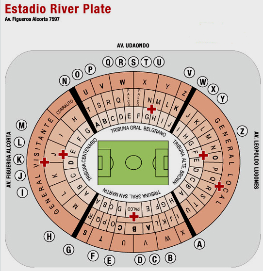 Tickets to River Plate