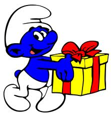 present from jokey smurf