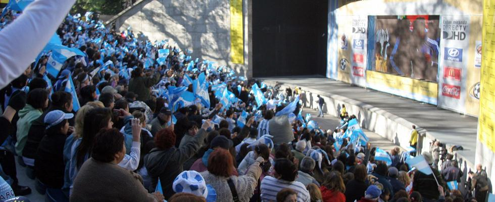 watching the world cup in buenos aires